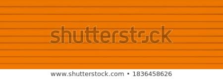 Brown paper on metal fence Stock photo © eddows_arunothai