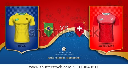 Switzerland and Jersey Flags  Stock photo © Istanbul2009