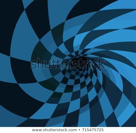 Abajo conejo agujero oscuro rojo escalera Foto stock © 3mc