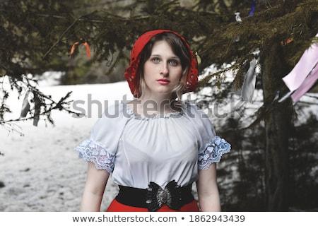 Redhat woman Stock photo © sapegina