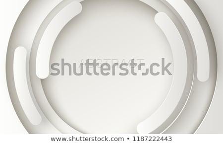 Circular capas resumen moderna geométrico ilustración Foto stock © derocz