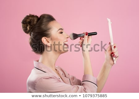 girl with powder on hands Stock photo © LightFieldStudios