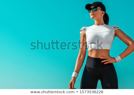 Young girl relaxing after workout stock photo © ilona75