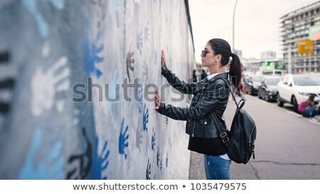 Mur de berlin Allemagne bâtiment construction mur fond Photo stock © lunamarina