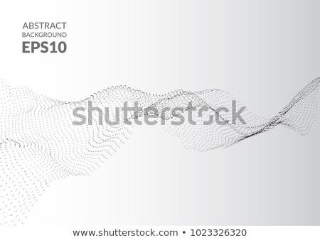 аннотация частица волна дизайна Сток-фото © SArts