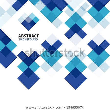 Abstract background with color cubes and grid Stock photo © fresh_5265954