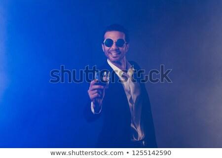 Hombre traje club nocturno fiesta personas Foto stock © dolgachov