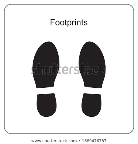 human foot icon vector element design Stock photo © blaskorizov
