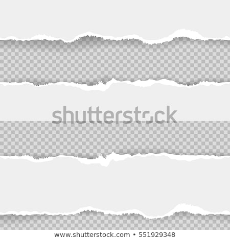 Stock photo: News Torn Paper Concept