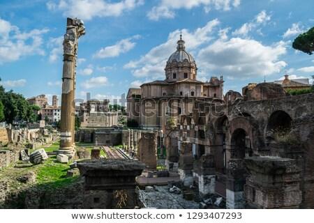 Iglesia Roma temprano medieval cruz arte Foto stock © borisb17