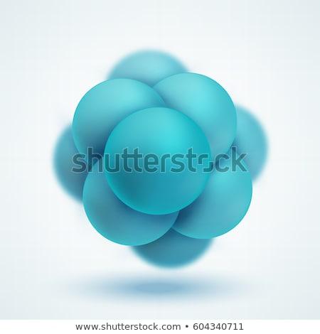 abstrato · imagem · molecular · estrutura · círculo · nanotecnologia - foto stock © kyryloff
