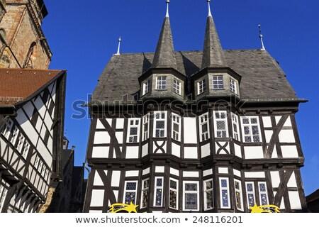 Stadhuis Duitsland hoofd- vierkante huis hout Stockfoto © borisb17