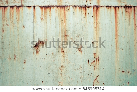 Oude roestige metaal achtergrond textuur Stockfoto © boggy