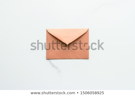 Blanco papier marmer vakantie mail nieuwsbrief Stockfoto © Anneleven