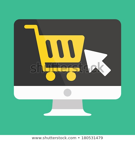 Ecommerce Shopping Cart Computer Mouse Concept Stock photo © ivelin