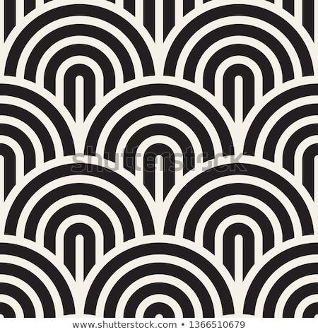 вектора концентрический Круги геометрический полосатый Сток-фото © samolevsky