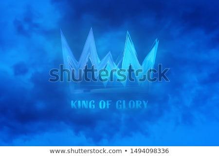 Dícséret király 3D renderelt illusztráció izolált Stock fotó © Spectral
