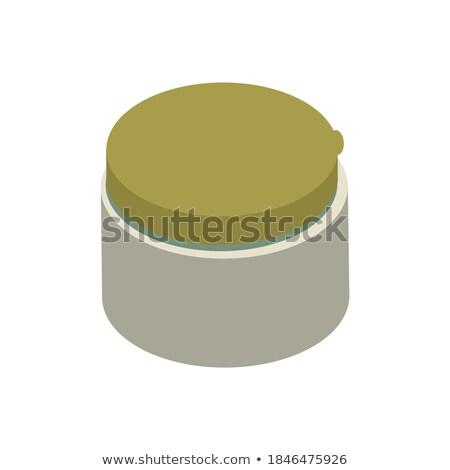 Kollajen krem izometrik ikon vektör imzalamak Stok fotoğraf © pikepicture