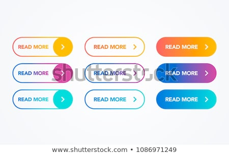 Buttons for web design. Stock photo © Hermione