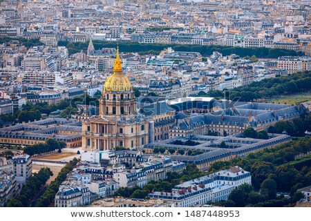 Dome the church of invalides stock photo © Musat