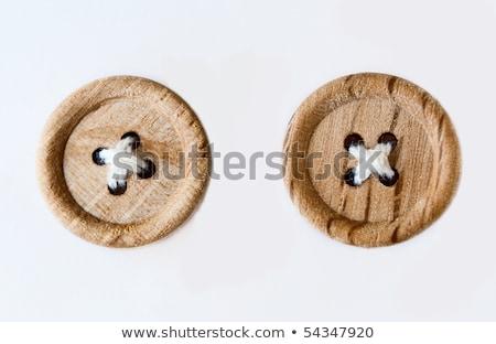 Houten knoppen vier verschillend gekleurd natuur Stockfoto © wingedcats