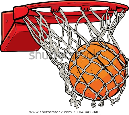basketball hoop on sky Stock photo © ssuaphoto