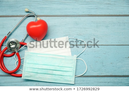 Atak serca widoku człowiek sportu zdrowia czerwony Zdjęcia stock © 4designersart