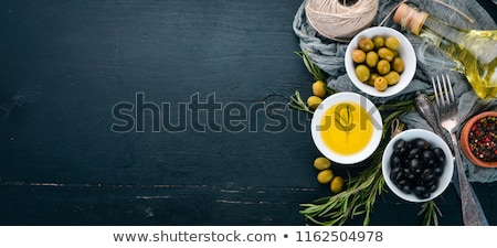 Olive oil and a copy space. stock photo © angelsimon