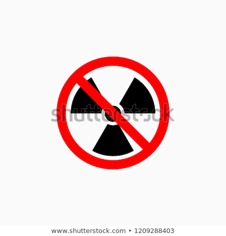 no Nuclear Symbol Stock photo © vichie81