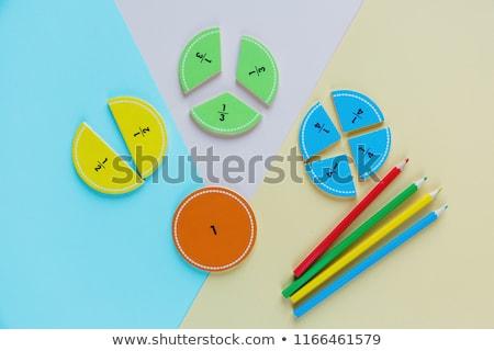 Zdjęcia stock: Oncepcja · klasy · matematyki · dzieci