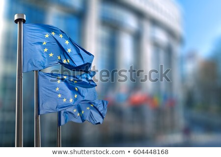 Сток-фото: Eu Or European Union Flag