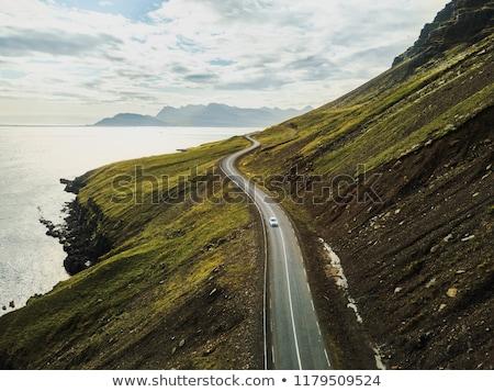 Scenic road on Iceland  stock photo © JanPietruszka