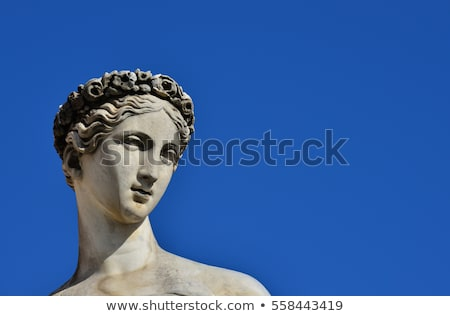 classic statue of woman stock photo © mrakor