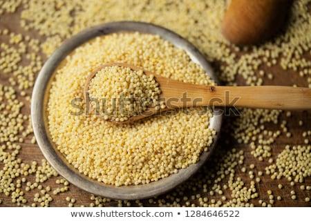食べ · シード · 穀物 · マクロ · 健康 · 穀物 - ストックフォト © Bellastera