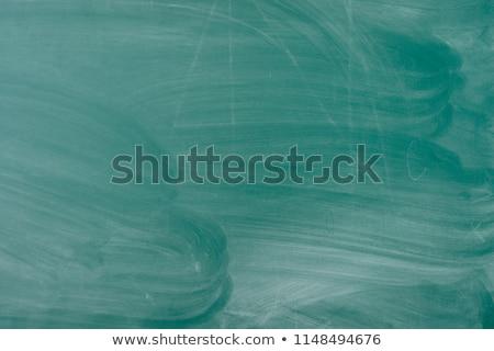Mázgás iskolatábla szöveg ír terv fa Stock fotó © bbbar