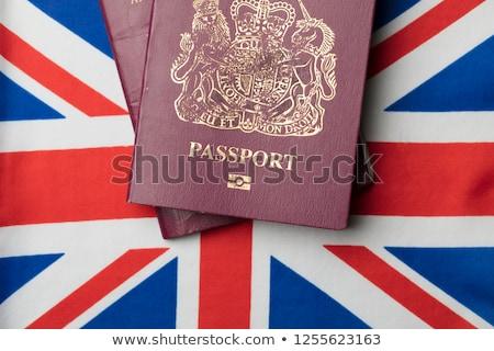 公式 英国の パスポート 孤立した 白 イングランド ストックフォト © yurikella
