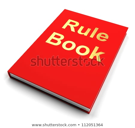 Rule Book Policy Guide Manual Stock photo © stuartmiles