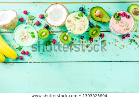 Selection of summer berries Stock photo © danielgilbey