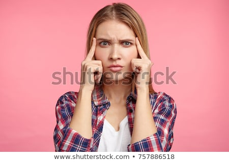 Students trying to recollect the answer Stock photo © stockyimages