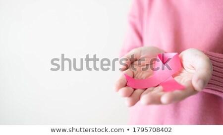 portrait · séduisant · jeune · femme · rose · Soutien-gorge - photo stock © anna_om