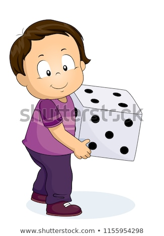 Children playing with dice Stock photo © photography33
