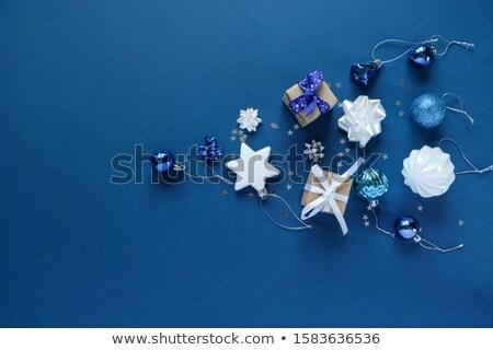 nowy · rok · karty · wakacje · projektu · anioł · gwiazdki - zdjęcia stock © Elmiko