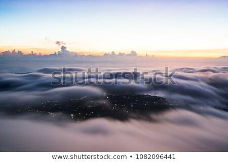 建設 · クレーン · 空 · 雲 · 美しい · 青空 - ストックフォト © ssuaphoto