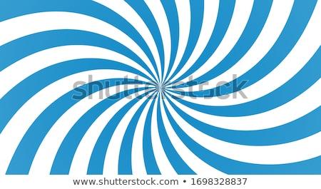 Blauw · spiraal · stralen · abstract · chaos · donkere - stockfoto © marinini