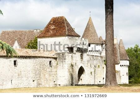 Bridoire Castle, Dordogne Department, Aquitaine, France Stock photo © phbcz