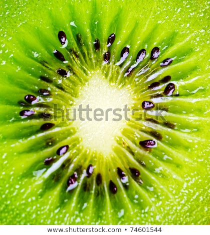 Close up of a healthy kiwi fruit Stock photo © Kesu