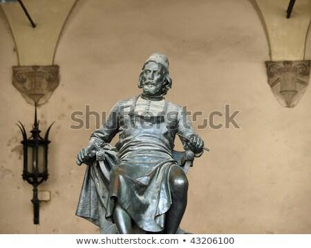 Bronz heykel İtalya ev doğmuş Stok fotoğraf © wjarek