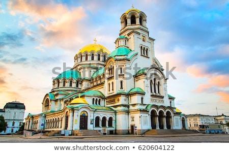 Catedral Sófia Bulgária pedra adorar religião Foto stock © dinozzaver