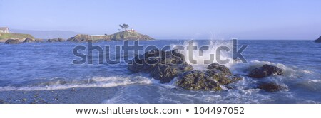 Okyanus plaj hilâl şehir kuzey Kaliforniya Stok fotoğraf © snyfer