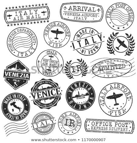 Stock photo: Italian post stamp